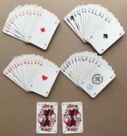 JEU DE CARTES POKER BRIDGE 52 CARTES + 2 JOKERS - 4 SCANS - Cartes à Jouer Classiques