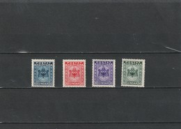 1930  MH Mint Hinged Sc.Due  J35-J38, Yv. Taxe 30-33, Mi. Porto 30-33               160 - Albania
