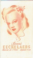 Carte Parfum - Savons EECKELAERS Savons De L'Elite Depuis 1850 - Cartes Parfumées