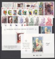 SMOM 1987 Annata Completa/Complete Year MNH/** VF - Malte (Ordre De)
