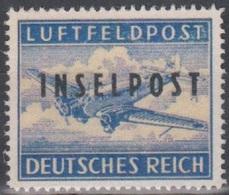 Deutschland 1944. Feldpost-Inselpost. Mi 8A FALSCH, FALSE - Luftpost