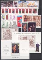 SMOM 1990 Annata Completa/Complete Year MNH/** VF - Malte (Ordre De)