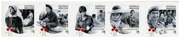 Australie Australia 4516/20 Autoadhésifs Du Carnet, WWI, WWII, Vietnam, Corée, Afghanistan, Irak, Femmes Dans La Guerre - Geschichte