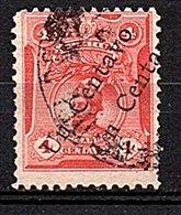 DOUBLE OPT. 1 Cents Very Fine Used (866) - Pérou