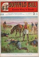 EO BUFFALO BILL N* 58 - KENTON KING, LE BANDIT -  LE HEROS DU FAR-WEST -  EDITION ATLAS. - Aventure