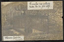 CARTE PHOTO 28 - Thiron-Gardais, Tombe Des Soldats Tués Le 29 Septembre 1870 - France