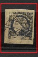 ARGENTINA   1867  CORRIENTES  GJ#6  2c. Amarillo Ocre - Corrientes (1856-1880)