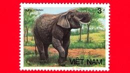 VIETNAM Nord - Viet Nam - 1987 (1986) - BUU CHINH - Elefante Asiatico (Elephas Maximus) - 3 - Vietnam