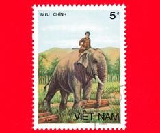 VIETNAM Nord - Viet Nam - 1987 (1986) - Elefante Asiatico (Elephas Maximus) - 5 - Vietnam
