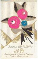 Carte Parfum - N°19 Savon De Toilette - Savonneries LEVER FRERES à FOREST-BRUXELLES - Cartes Parfumées