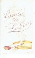 Carte Parfum - FUMEE De LUBIN - PARIS - Cartes Parfumées