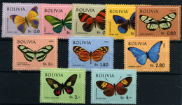 Bolivia (Aéreos) Nº 488/93, 283/87. Año 1970. - Bolivia