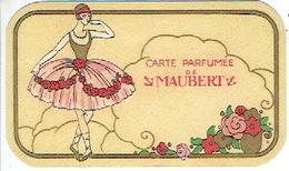 Carte Parfum - Carte Parfumée De MAUBERT - Cartes Parfumées