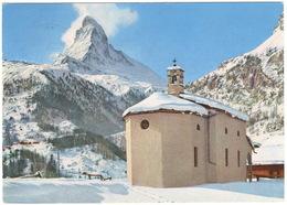 Winkelmatten Mit Matterhorn - Le Cervin  - (Schweiz/Suisse) - 1957, Zermatt - VS Valais