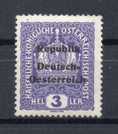 AUSTRIA  1918   KNITTELFELD  , MNH - 1850-1918 Empire