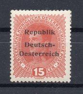 AUSTRIA  1918   KNITTELFELD  , MH - 1850-1918 Empire