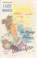 Carte Parfum - ILES NARD  De MONALISA Parfumeur à NANTES Et PARIS - Cartes Parfumées