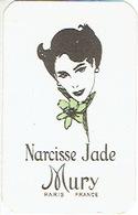 Carte Parfum - NARCISSE JADE De MURY - PARIS - Cartes Parfumées
