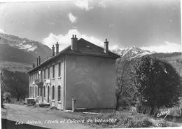 Les ADRETS - L'Ecole Et Colonie De Vacances - Photo Oddoux - Philatélie Cachet Héxagonal En Pointillés Frontonas - France