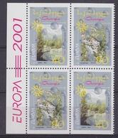 Europa Cept 2001 Georgia  Booklet  Pane (2x2v) ** Mnh (46086) Promotion - 2001