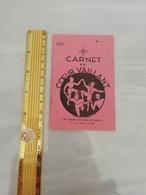 11330  CARNET DU COEUR VAILLANT VIERGE LYON - Scoutisme