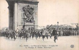 75-PARIS FETE DE LA VICTOIRE 19 JUILLET 1919 ARMEE BRITANNIQUE-N°T1080-G/0133 - Sonstige