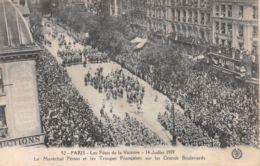 75-PARIS FETE DE LA VICTOIRE 19 JUILLET 1919 TROUPES FRANCAISES-N°T1080-G/0135 - Sonstige