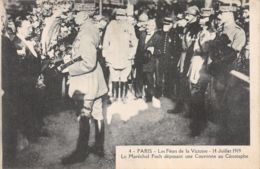 75-PARIS FETE DE LA VICTOIRE 19 JUILLET 1919 MARECHAL FOCH-N°T1080-G/0137 - Sonstige