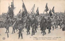 75-PARIS FETE DE LA VICTOIRE 19 JUILLET 1919 ARMEE FRANCAISE-N°T1080-G/0141 - Autres