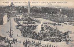 75-PARIS FETE DE LA VICTOIRE 19 JUILLET 1919 PLACE DE LA CONCORDE-N°T1080-G/0147 - Sonstige