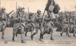 75-PARIS FETE DE LA VICTOIRE 19 JUILLET 1919 FONCK PORTE DRAPEAU-N°T1080-G/0205 - Autres
