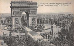 75-PARIS FETE DE LA VICTOIRE 19 JUILLET 1919 ARMEE FRANCAISE-N°T1080-G/0207 - Autres