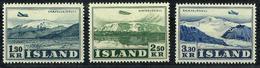 Islandia A-27/29 Nuevos. Cat.65€ - Aéreo