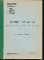 991/25 -- 4 X LIVRE/BOEK WEFIS Nr 35,38,40 En 42 - Stempeltype Van 1910 , 300 Blz ,  1983/86 , Door H. Van De Veire - Oblitérations