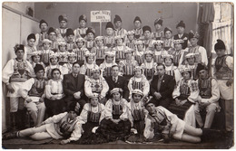 "CORUL "" ASTRA "" Din ŞONA / FAGARAŞ / BRAŞOV - CARTE VRAIE PHOTO / REAL PHOTO POSTCARD ~ 1930 - '935 - RRR ! (ad730) - Roumanie"