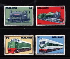 MALAWI    1968    Malawi  Locomotives    Set  Of  4    MNH - Malawi (1964-...)