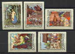 Russie - YT N° 3548 à 3552 - Neuf Sans Charnière - 1969 - Nuevos