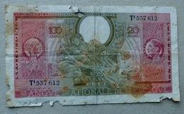 100 Frank Of 20 Belga's 01.02.1943 - 100 Francs & 100 Francs-20 Belgas