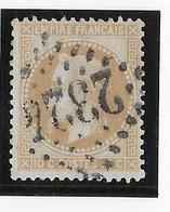 France N°28A - Type I - Oblitéré - TB - 1863-1870 Napoleon III Gelauwerd