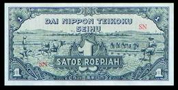 # # # Banknote Niederländisch Indien (Neth. Indies) 1 Roepiah # # # - Indonesia