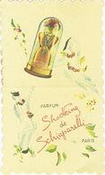 Carte Parfum - SHOCKING De SCHIAPARELLI - PARIS - Cartes Parfumées