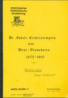 996/25 -- 2 X LIVRE/BOEK WEFIS Nr 51 En 55 - Enlelcirkelstempels West Vl.  , 127 Blz ,  1989/90 , Door Renaat Dusauchoit - Stempel
