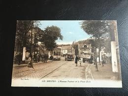 109 - NANTES L'Avenue Pasteur Et La Place Zola - 1935 - Nantes