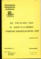 997/25 -- LIVRE/BOEK WEFIS Nr 57 - De Postcode 1990 In West Vlaanderen , 21 Blz ,1991 , Door Renaat Dusauchoit - Oblitérations
