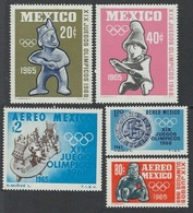 1965Mexico1192-11961968 Olympic Games In  Mexiko6,50 € - Zomer 1968: Mexico-City