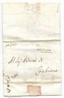 GOVERNO PROVVISORIO DI MURAT - DA COLLAMATO A FABRIANO - 22.11.1814. - ...-1850 Voorfilatelie