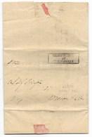 GOVERNO PROVVISORIO DI MURAT - DA CHIARAVALLE A MONTES.VITO - 4.4.1814. - ...-1850 Voorfilatelie