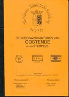 998/25 -- LIVRE/BOEK WEFIS Nr 63 - Spoorwegkantoren Van OOSTENDE , 76 Blz ,1993 , Door Joseph Goes - Eisenbahnen