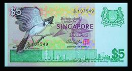 # # # Banknote Singapur (Singapore) 5 Dollar 1976 UNC # # # - Philippines