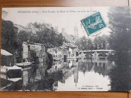 CPA PUTANGES    Pont Ecrepin  Les Bords De L'orne  Vue Prise Du Friches - Putanges